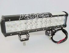 12INCH 72W CREE LED LIGHT BAR SPOT FLOOD COMBO LAMP JEEP OFFROAD SUV TRUCK 4WD