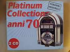COMPILATION - PLATINUM COLLECTION ANNI 70. BOX 2 CD