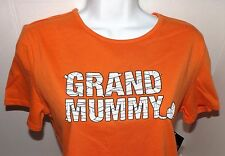 Grand Mummy Tshirt Ladies Holiday Top Shirt Halloween Trick or Treat Clothing M