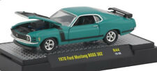 L77 32600 44 M2 MACHINES DETROIT MUSCLE  1970 Ford Mustang BOSS 302 GREEN 1:64