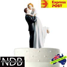 True Romantic Couple Classic Wedding Bride and Groom New Cake Topper FASTPOST