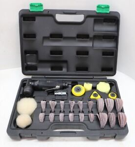 760K Air Nesco Professional Small Mini Spot Repair Sander Sanding Tool Kit