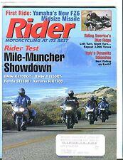 Rider Magazine December 2003 BMW K1200GT EX w/ML 050717nonjhe