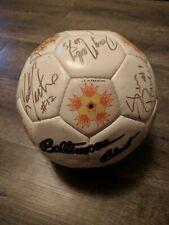 Team Signed 1992 Baltimore Blast Soccer Ball
