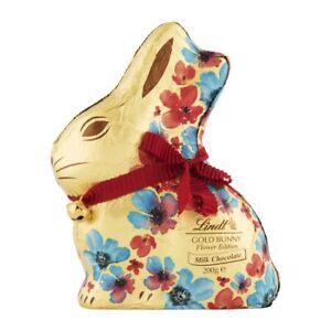 Lindt Milk Chocolate Gold Bunny Flower Edition 200g