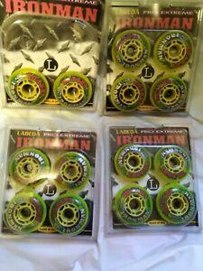 72mm x 82a Labeda Ironman Inline Wheel, 14 wheels.