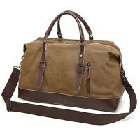 Travel Canvas Journey Sports Shoulder Overnight  Luggage Weekend Duffel Gym Bag