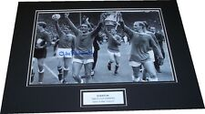 Everton - 1966 FA Cup Winners Photo Mounted Signed Mike Trebilcock - PROOF