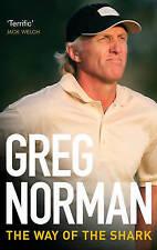 GOLF GREG NORMAN Way of the Shark Sports Book PGA British Open Golf Business
