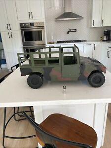 Vintage 21st Century Toys Military Snow Cammo Humvee For GI Joe And Display