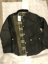 Brand New Barbour Reelin Wax Quilt Insulated Jacket Coat Sage Mens XL