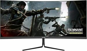 VIOTEK GNV29CB 29In Curved Ultrawide Gaming Monitor 120Hz 21:9 VA Panel FreeSync