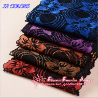 1 yard Flower Stretch Lace Trim Ribbon Sewing Dress Skirt DIY Handcrafts FL56