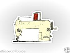 Sewing Machine craft Sticker decal car laptop scrapbook