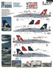 F/A-18C VFA-131 Feline Hornet (Red&Blue Tail CAG) - TwoBobs - 48-120  - 1:48