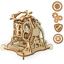 Wood Trick Wooden Puzzle WHEEL OF FORTUNE Model 3D Mechanical Assembly Gears Toy