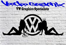 AUTO Furgone Corpo DUB EDITION Sticker Vinyl Decal VW T6 T5 T4 Split Camper Surf Autobus