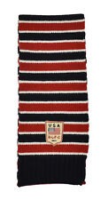 Polo Ralph Lauren Rugby Wool USA Flag Scarf New