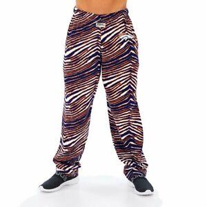 Zubaz NFL Men's Denver Broncos Classic Zebra Print Team Pants