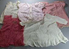 5 Vintage Lace Embroidered Girl Children Dresses