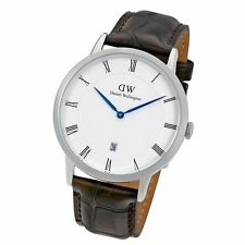 New Daniel Wellington Dapper York 38mm 1122DW Brown Leather Watch