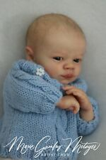 Prototype Realborn Christopher Awake, Bountiful baby, doll baby boy, Lndm