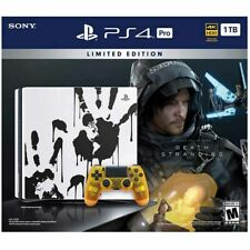 Death Stranding Sony PlayStation 4 Pro 1TB Special Limited Edition Console