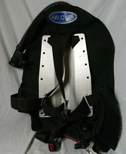 Halcyon Pioneer 27 BCD diving wing Scubapro Air2 aluminum backplate refurb 11-20