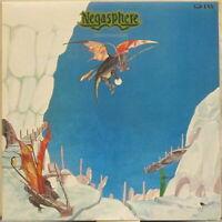 "NEGASPHERE Disadvantage LP Japan Prog Rock w/ 7"" Flexi, Obi-Insert"