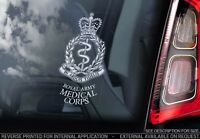 Royal Army Medical Corps - Car Window Sticker - British Army Badge Decal RAMC V1