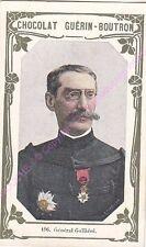 Chromo CHOCOLAT GUéRIN BOUTRON Général Galliéni n 196 /500