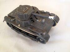 M38/  Gama Panzer Tank um ca.1950 Miltärspielzeug Mimikri  L: 19 cm  /TOP