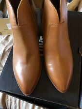Frye Jennifer Ankle Booties Cognac Tan Smooth Leather 8M; NIB $228 💕💕