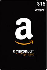 Amazon Card US 15 Dollar - $15 USD Amazon Gift Card - Code via eMail - free Ship