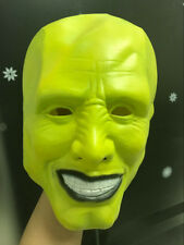 The Mask Green Latex Mask Jim Carrey Costume Halloween Fancy Dress Film Loki Cos