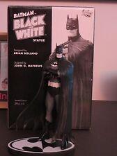 DC DIRECT BATMAN BLACK AND WHITE STATUE BY BRIAN BOLLAND! NM!