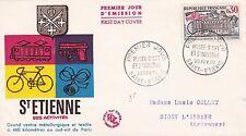 FRANCE 1960 FDC MUSEE D'ART ET D'INDUSTRIE YT 1243