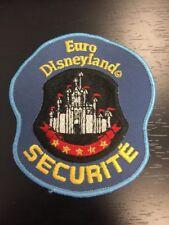 Euro Disneyland Paris Cast Member Security Patch Rare 1992