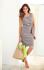 Etui-Kleid Vivance Collection. Taupe. NEU!!! KP 59,99 �'� SALE%25%25%25