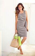 Kleid Taupe Von Vivance Collection 44