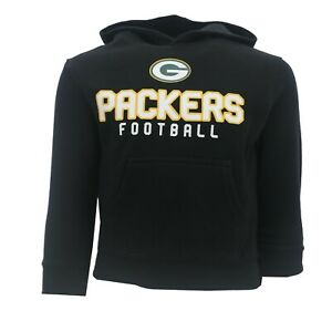 Green Bay Packers NFL Youth Kids Size Hooded Sweatshirt & T-Shirt Combo Set New