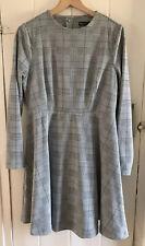 M&S Check Swing Dress Size 14 BNWT