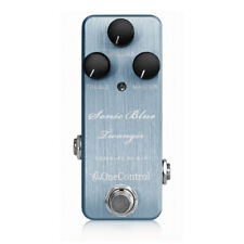 New One Control Sonic Blue Twanger Distortion Guitar Effects Pedal
