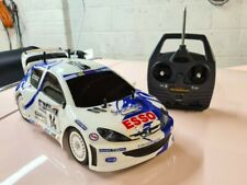 Tamiya Peugeot 206 WRC 1/10 Scale RC Car RARE - TA03F-S Ready to Run complete