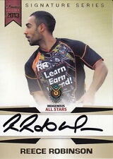 NRL - 2013 Rugby Trading Card Collection Signature Set ~ Reece Robinson #/167
