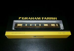 N Gauge Farish 374-232 BR Mk1 Pullman SK Second Kitchen '343' Umber Cream coach