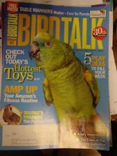 *BIRD TALK MAGAZINE Feb 12 Amazon Health Fitness Table Manners Bourke's Parakeet