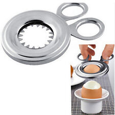 Stainless Steel Boiled Egg Shell Topper Scissors Cutter Clipper Kitchen Tools