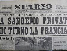 STADIO - Quotidiano Sportivo 20-03-1960 - Barcelona Real Madrid   [G44]