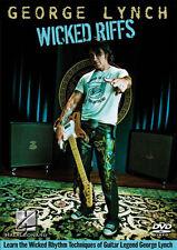 George Lynch Wicked Riffs Guitar DVD NEW!